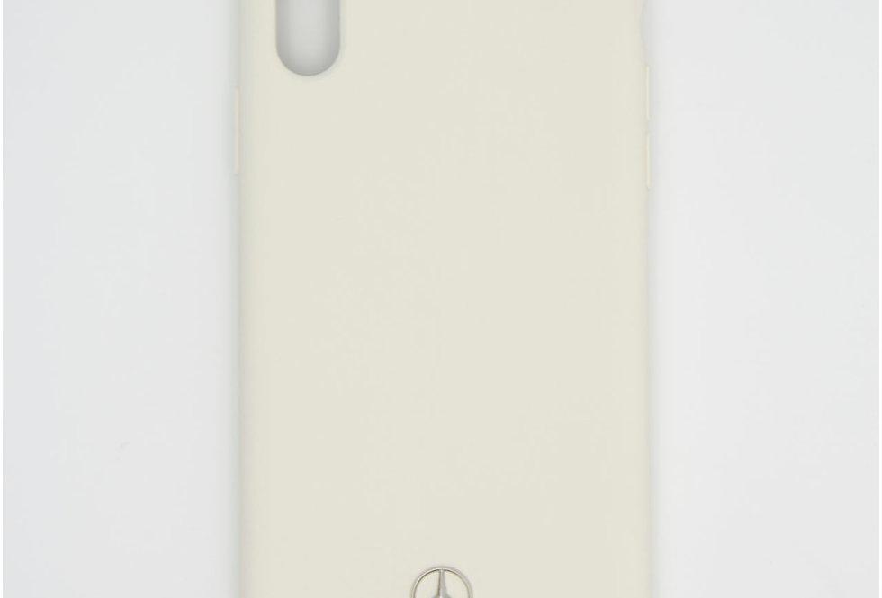 Силиконовый чехол на iPhone Xr Mercedes