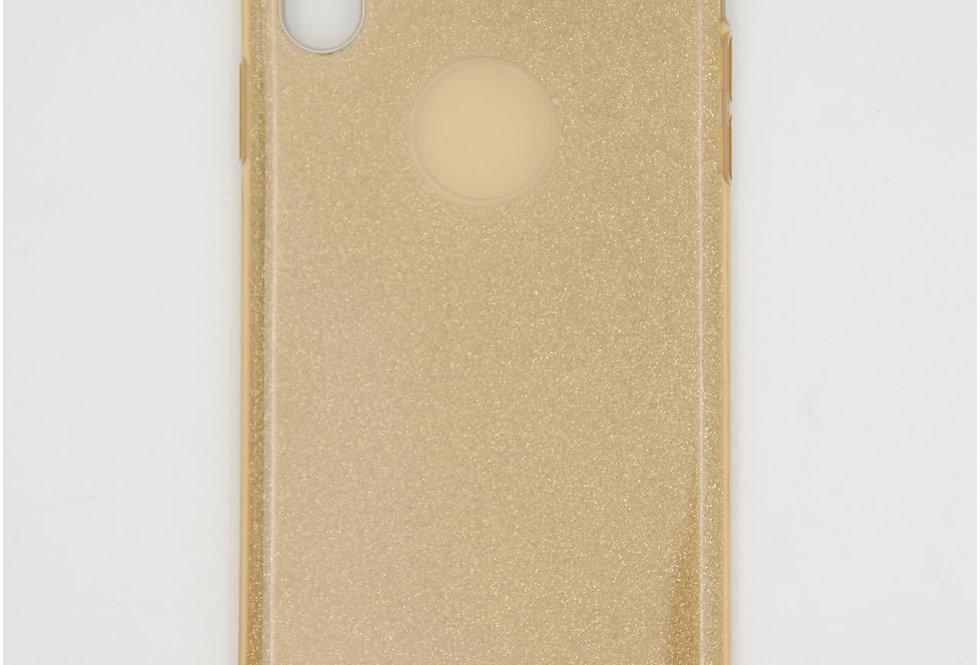 Трехсоставный силиконовый чехол на iPhone Xs Max
