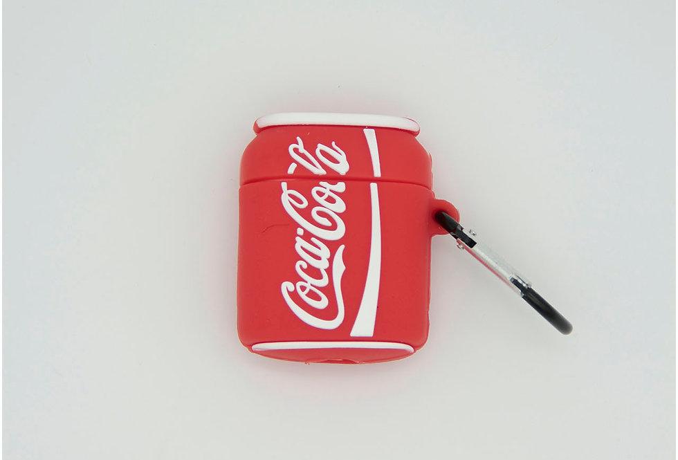 Чехол для AirPods 1/2 Coke