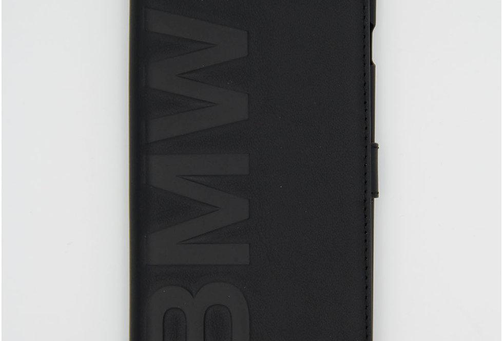Кожаный чехол книжка на iPhone 6 Plus BMW