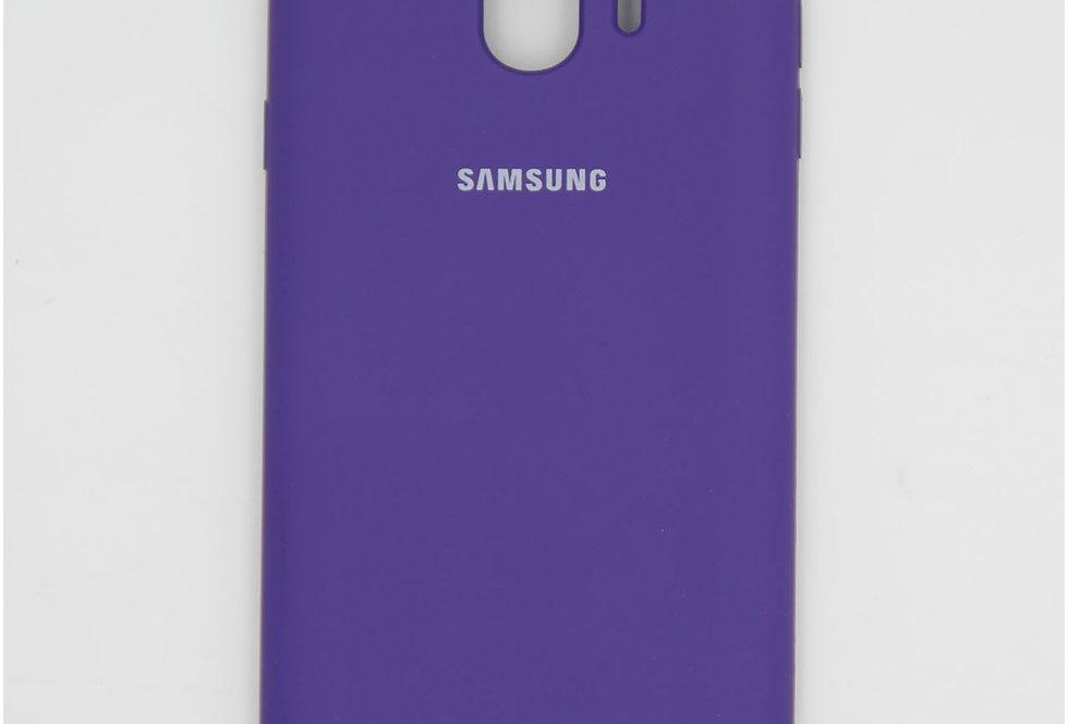 Силиконовый чехол на Samsung J4 2018 Silicone Cover