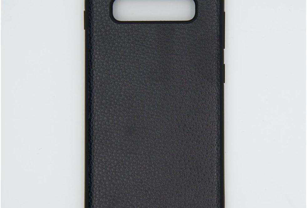 Кожаный чехол на iPhone Samsung s10 plus GUESS