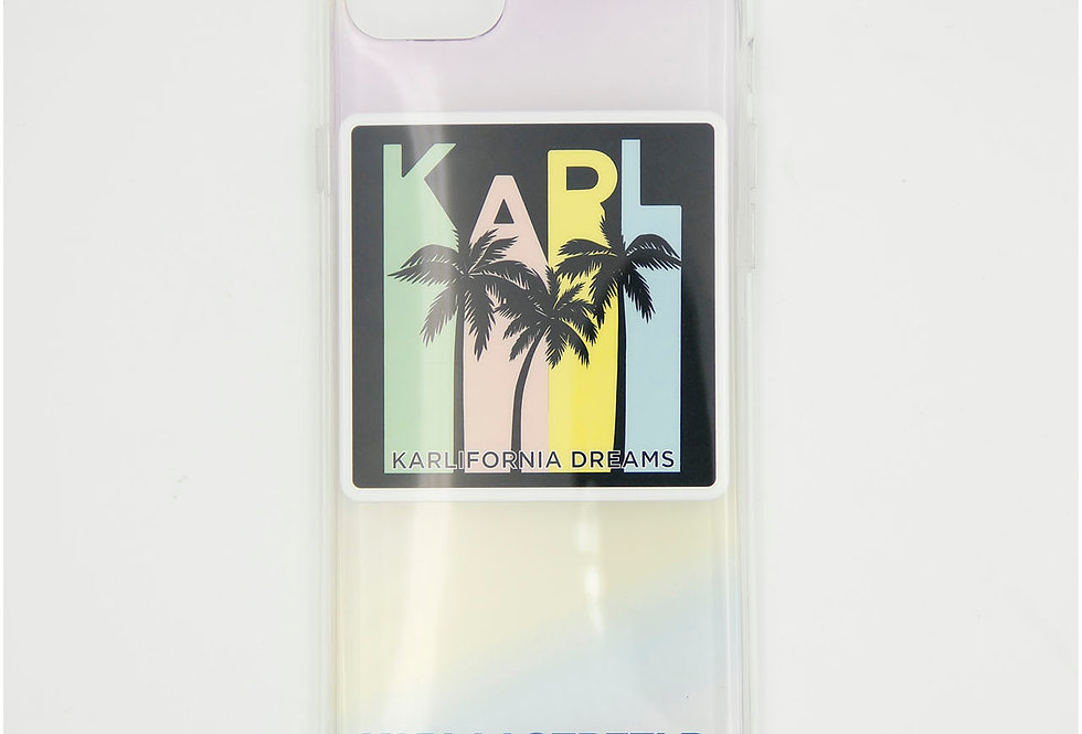 Силиконовый чехол на iPhone 8 Karl Lagerfeld