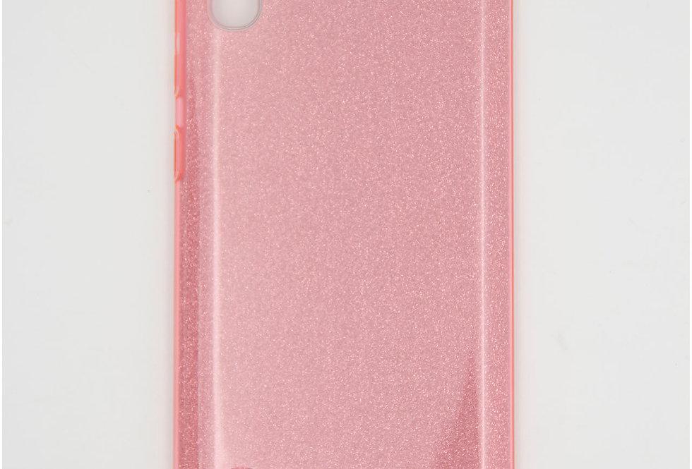 Трехсоставной силиконовый чехол на Samsung A10