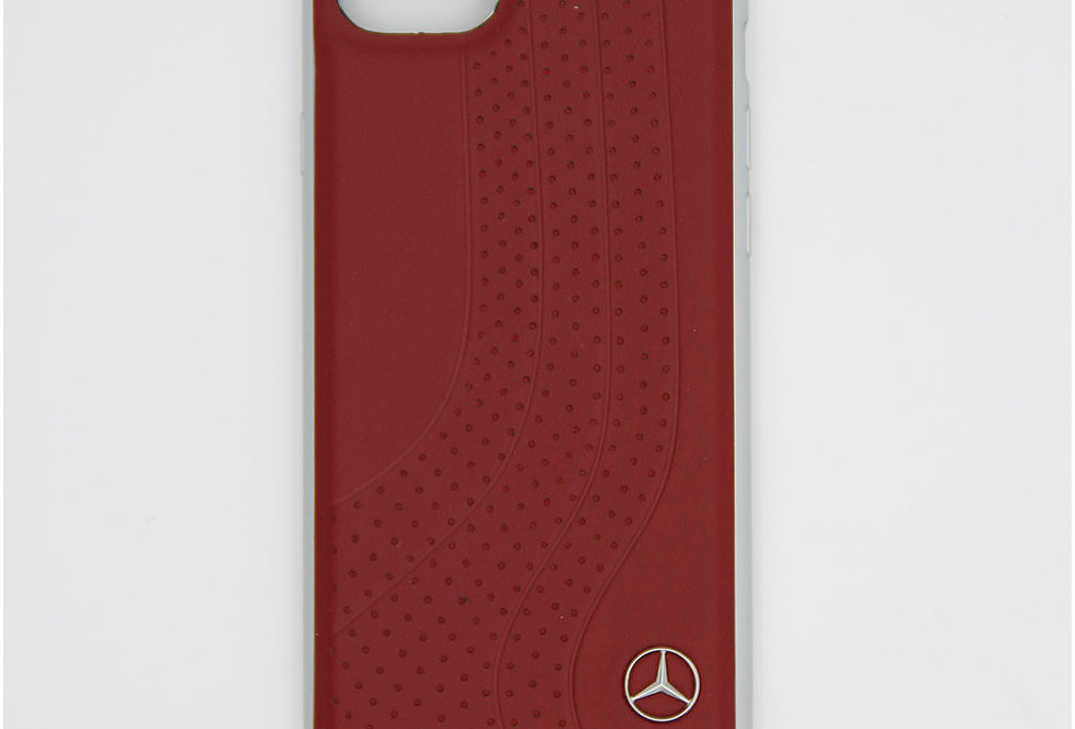 Кожаный чехол на iPhone 8 Mercedes