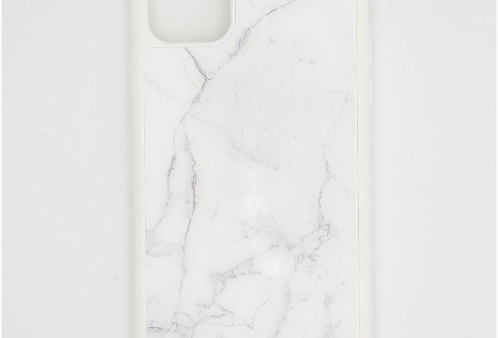 Стеклянный чехол накладка на iPhone 11 pro Guess Мрамор