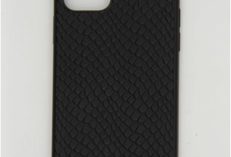 Чехол для iPhone 12 (6.1) Kajsa накладка, кожаная