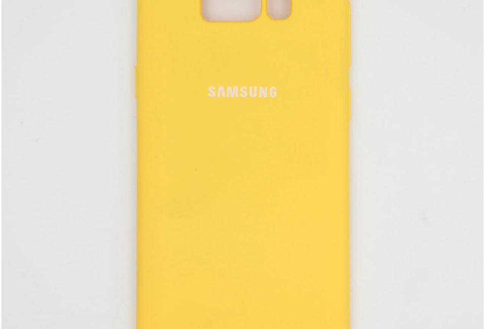 Силиконовый чехол на Samsung S8 Silicone Cover