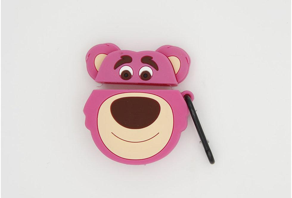 Чехол игрушка на AirPods Bear Lotso