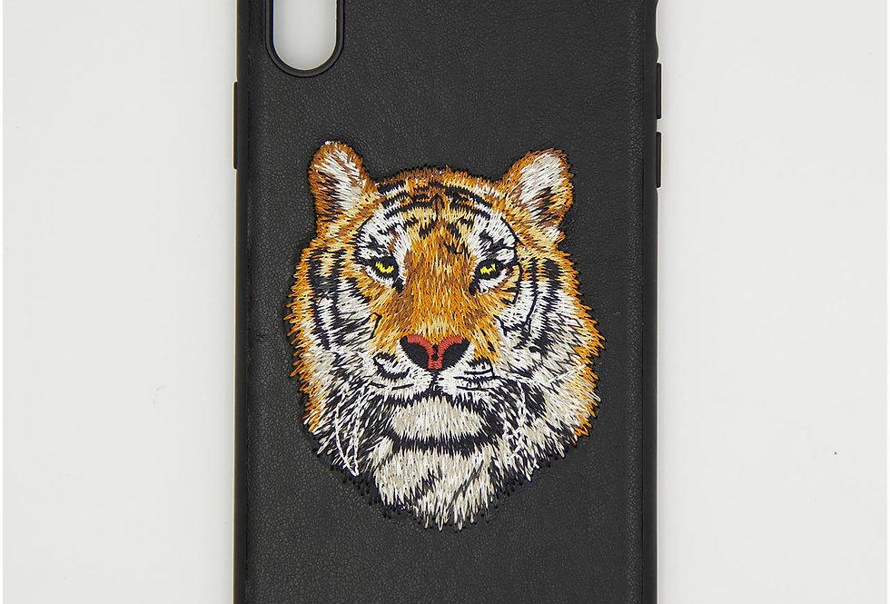 Кожаный чехол накладка на iPhone XS Max Santa Barbara
