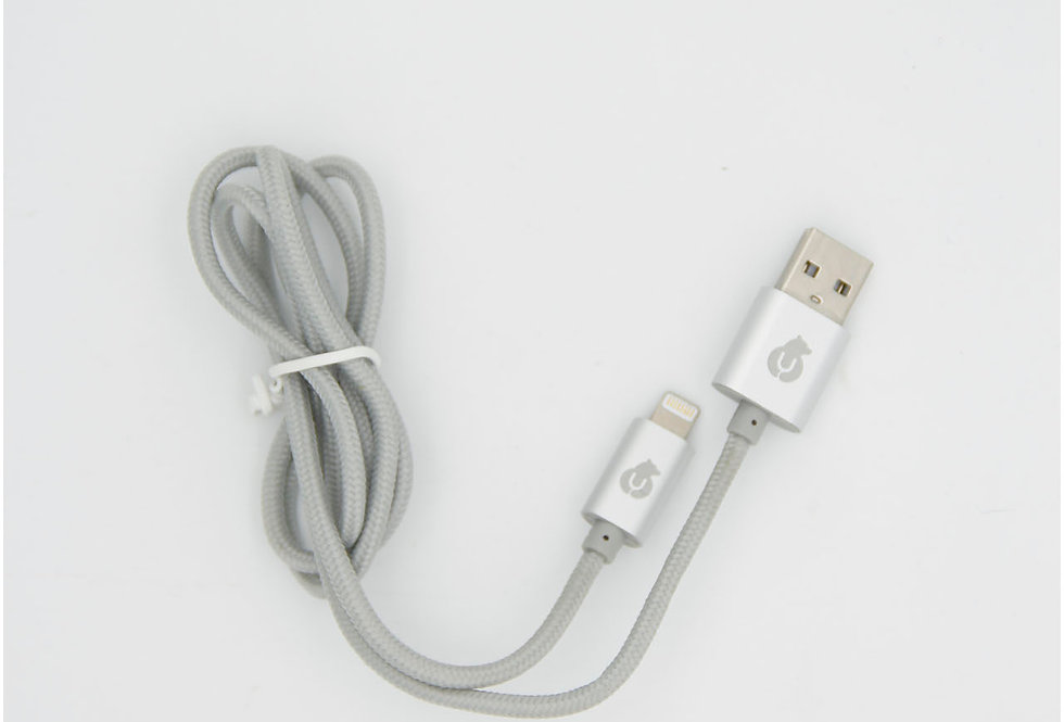 Зарядный кабель Lightning 1м uBear