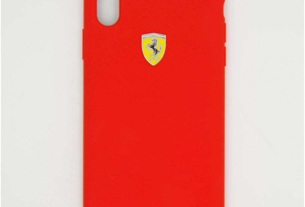 Силиконовый чехол на iPhone Xr Ferarri