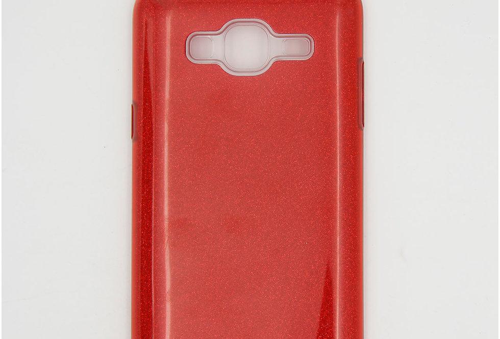 Трехсоставной силиконовый чехол на Samsung J3 2016