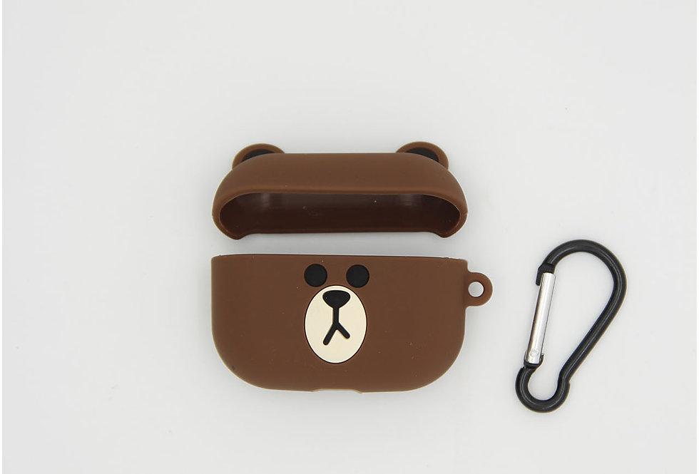 Чехол игрушка на AirPods Pro Bear