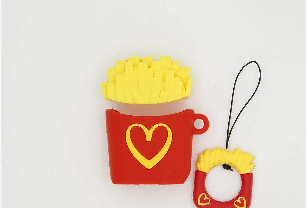 Чехол игрушка на AirPods McDonald's