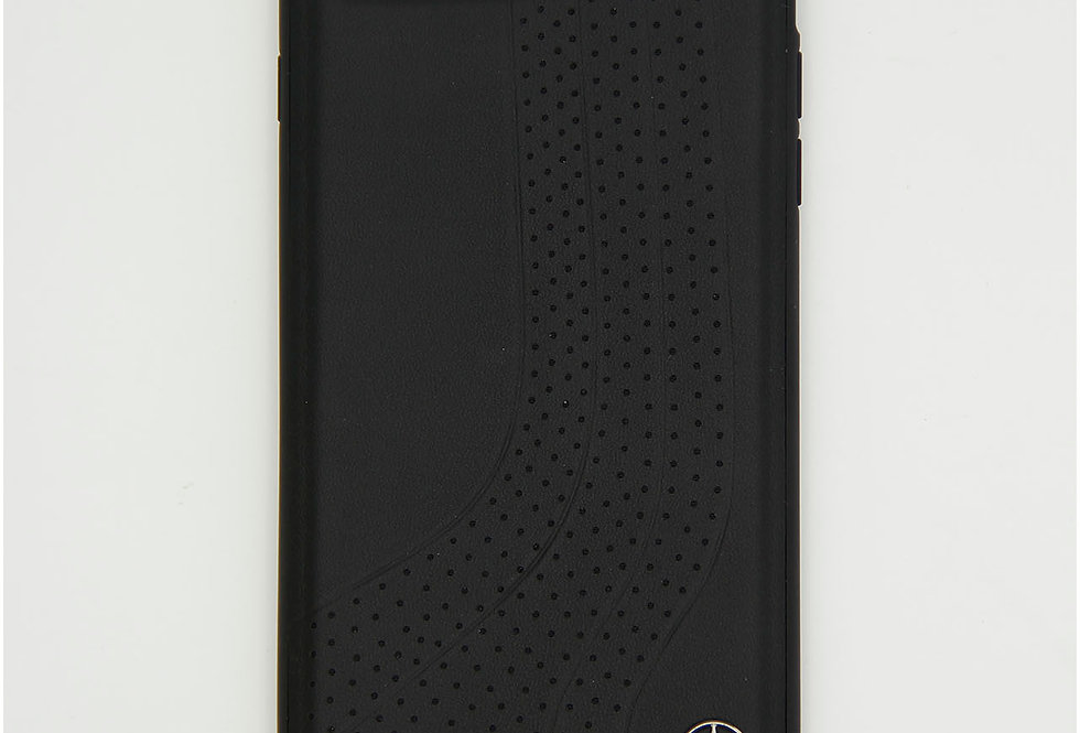 Кожаный чехол на iPhone 8 Plus Mercedes