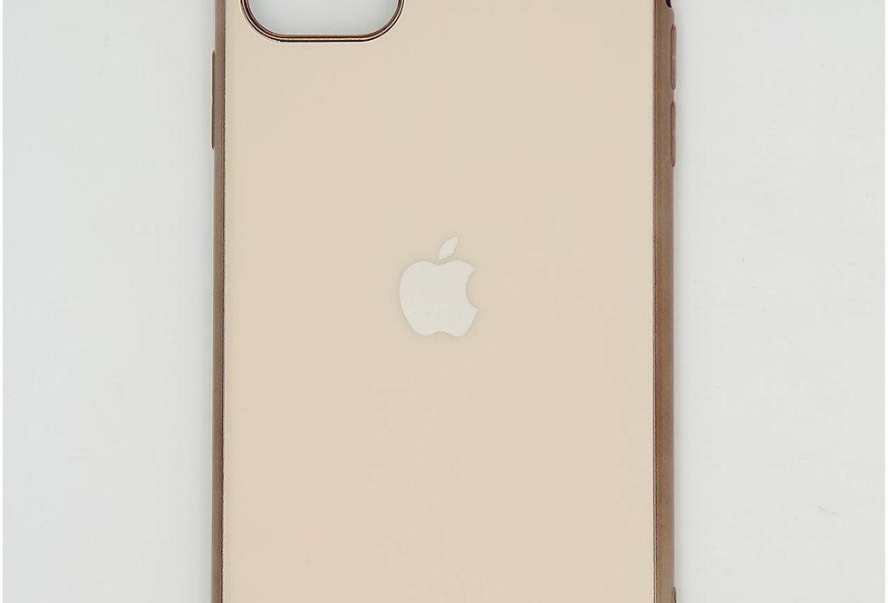 Чехол для iPhone 11 Pro Max силикон матовый под логотип
