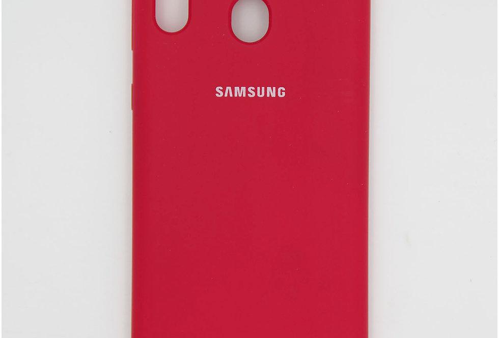 Силиконовый чехол на Samsung M20 Silicone Cover