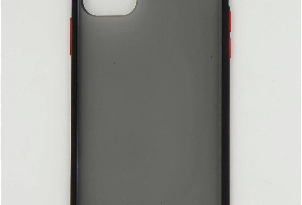 Чехол для iPhone 11 Pro Max противоударный, пластик тонированный