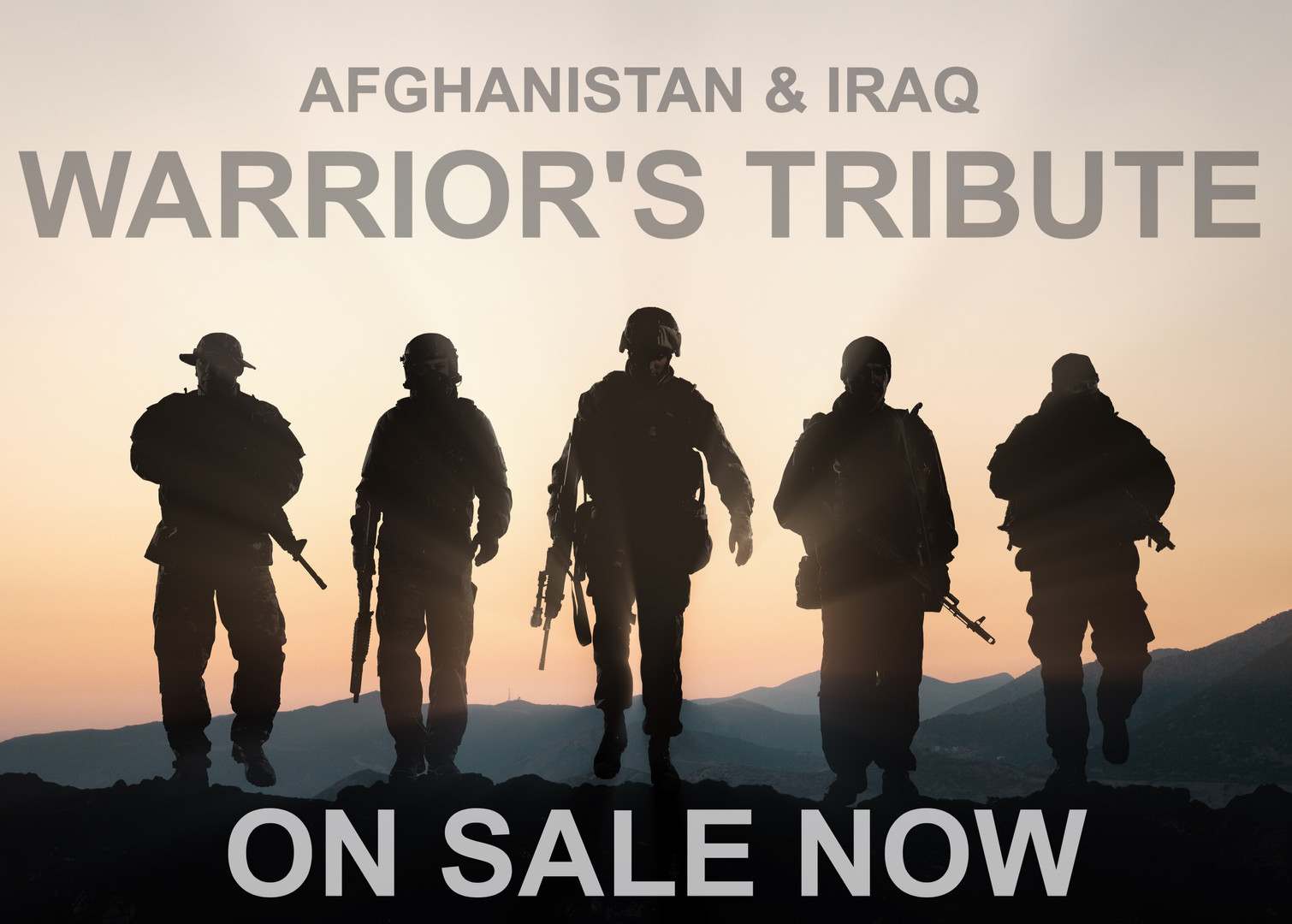 Afghan & Iraq Warrior's Tribute on sale NOW