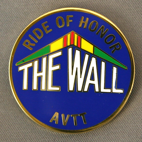 Ride of Honor shirt pin