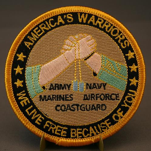 America's Warrior Patch