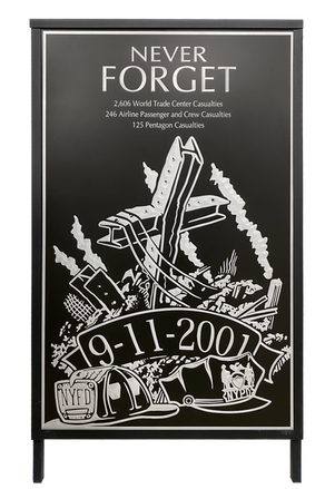 9/11 Tribute Cover