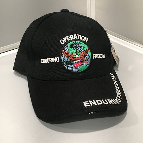 Operation Enduring Freedom hat
