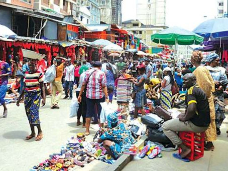 ASWANI THRIFT MARKET, LAGOS.