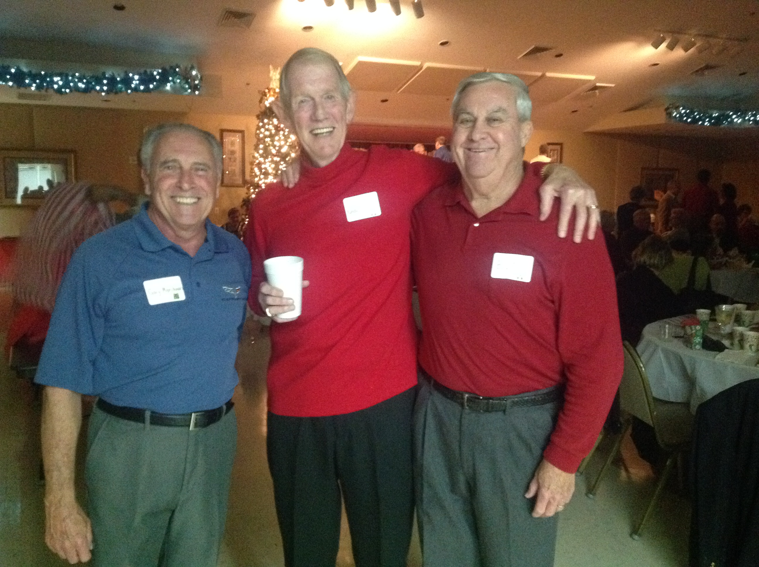 11-Gary M, Randy R & Bill, a Friend from Tampabay Vettes.JPG