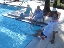 33-Laura, Harold & Arnaldo cooling their heels.JPG