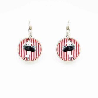 Boucles d'oreilles Pendantes #1651
