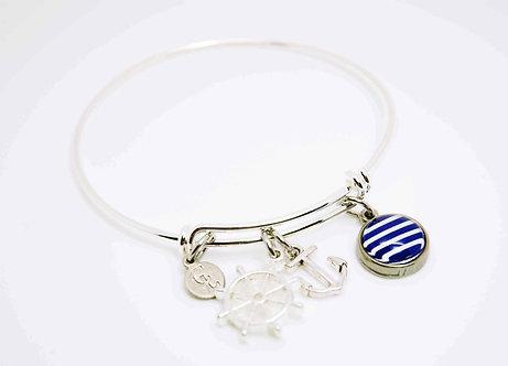 Bracelet avec fantaisies #1421B