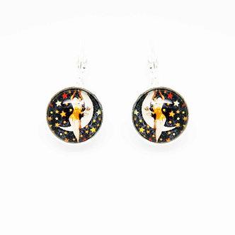 Boucles d'oreilles Pendantes #1677