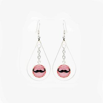 Boucles d'oreilles Pendantes à crochets #1656