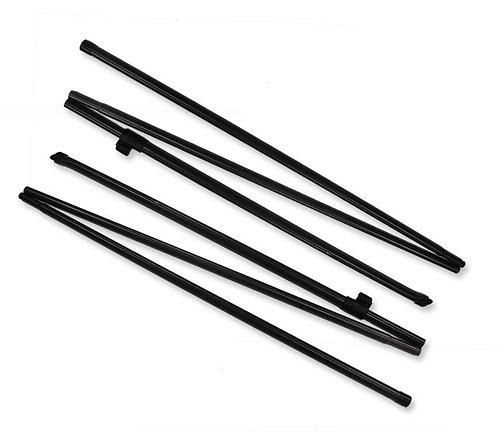 Awning Rear Pad Poles (pair) Adjustable