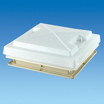 400 x 400 Rooflight c/w Flynet – White