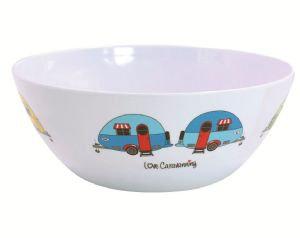 Love Caravanning Salad Bowl