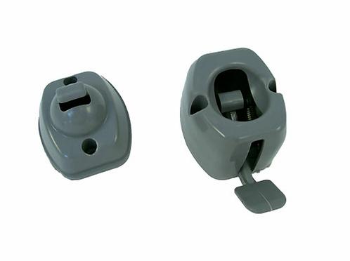 lever release door retainer/Grey