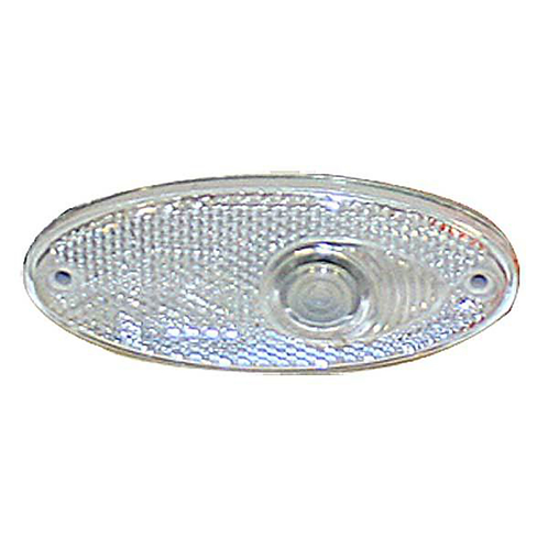 RECESS OVAL FRONT MARKER LAMP