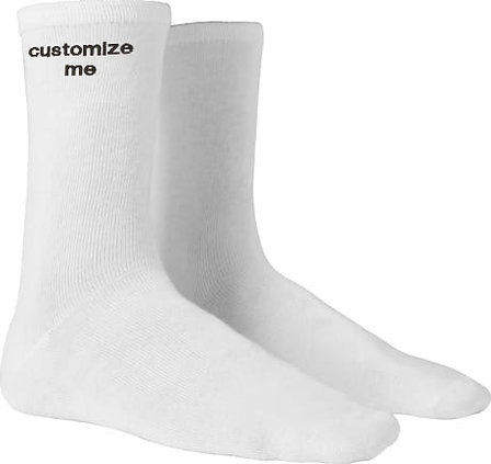 CUSTOMIZED EMBROIDERY NAME SOCKS