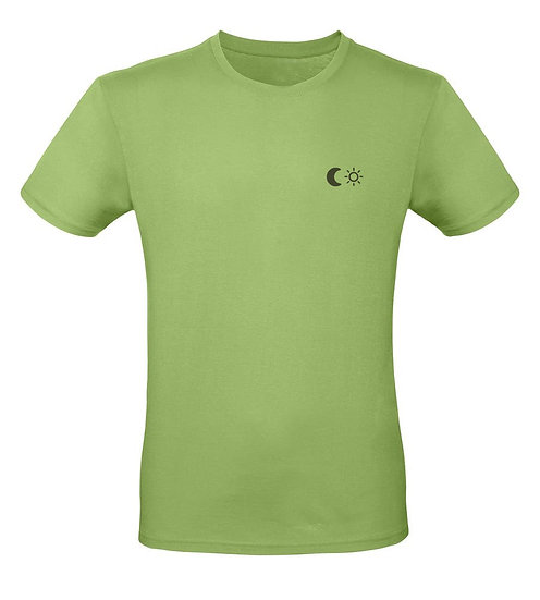 MEN'S SUN MOON SHIRT - PISTACHIO