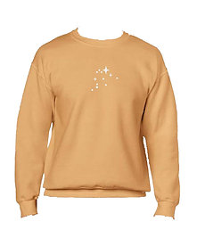 STARS ZODIAC GOLD SWEATER