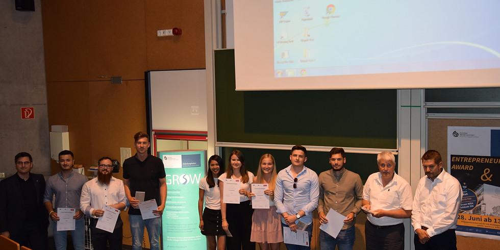 Entrepreneurship Award SS 2020