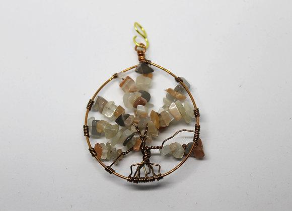 Mix gem stone tree of life