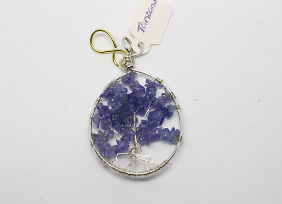 Tanzanite chips tree of life