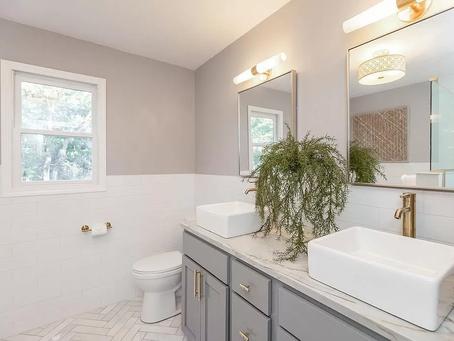 Master Bathroom Details & Organization