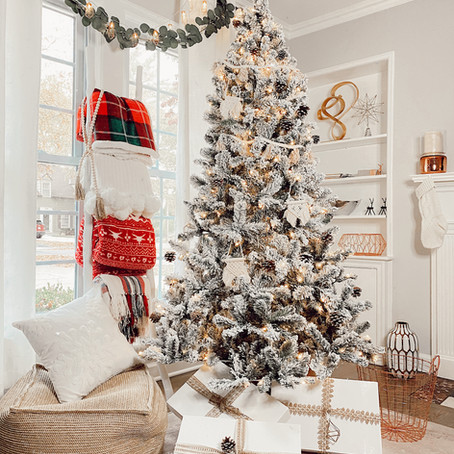 Boho Christmas Tree Decoration