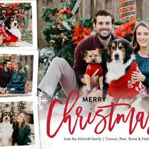 Christmas Holiday Card Photos 2020