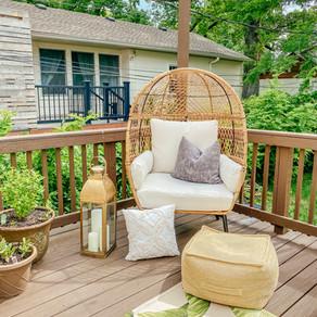 Egg Chair - Patio Outdoor Oasis